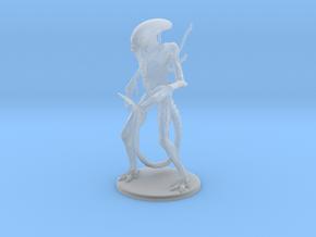 Xenomorph Miniature in Smooth Fine Detail Plastic: 1:60.96