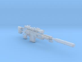 CheyTac M200 Sniper Rifle in Smooth Fine Detail Plastic