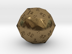 Periodic Die in Natural Bronze