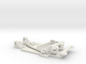 1/32 Chassis NSR pod for Carrera BMW 320 in White Natural Versatile Plastic