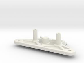 MSR-RBH-TA02 Race Bumper Holder TA-02 in White Natural Versatile Plastic