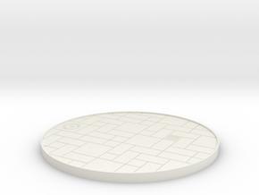 1/64 bricks solar display in White Natural Versatile Plastic