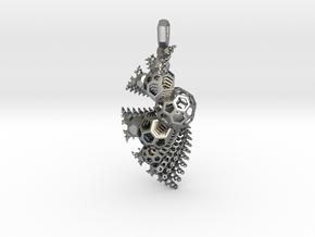 Chaos Drip - v3 in Natural Silver
