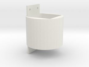 30mm to 40mm Laser Module Adapter (3018) in White Natural Versatile Plastic