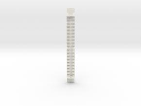 HO scale MBB Interior in White Natural Versatile Plastic