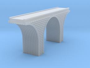 T Scale Arch Bridge Single Track 1:450 Scale in Smooth Fine Detail Plastic
