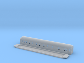 ABCo3 - Swedish passenger wagon in Smooth Fine Detail Plastic