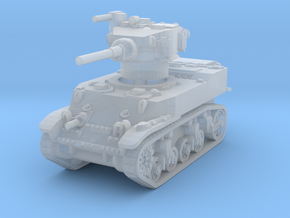M5A1 Stuart 1/160 in Smooth Fine Detail Plastic