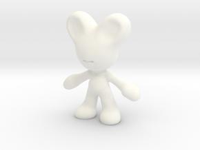 TOY ART WAR CAT01 in White Processed Versatile Plastic