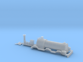 BROAD Gauge - 0-6-0 Dido Class - Body in Smooth Fine Detail Plastic