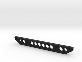 J2 rear bumper V4.1 in Black Natural Versatile Plastic