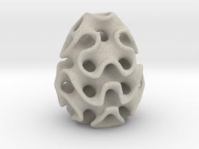 Schwarz' D Egg in Natural Sandstone
