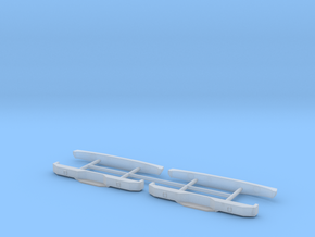 Greenlight Bumpside Bumpers in Smooth Fine Detail Plastic