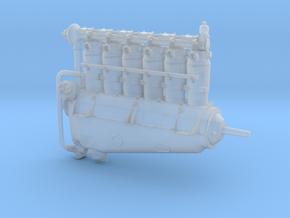 Mercedes DIII HP180 Aero Engine in Smooth Fine Detail Plastic