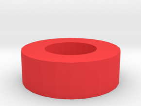 Pellets Seating Tool for H8R in Red Processed Versatile Plastic
