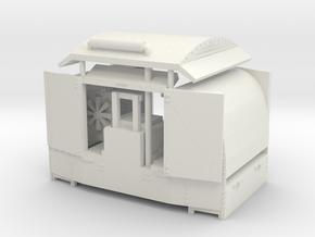 B-1-76-protected-simplex-both-doors-open2-plus OO9 in White Natural Versatile Plastic