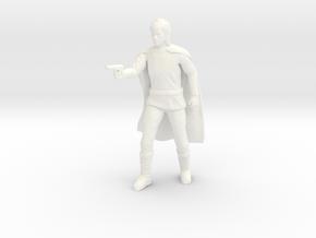 Battlestar Galactica - Starbuck in White Processed Versatile Plastic