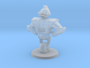 Gizmoduck survivor 1/60 miniature with base 4 game in Smooth Fine Detail Plastic