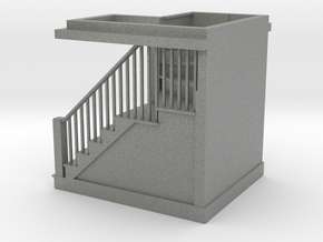 1:48 scale staircase in Gray PA12