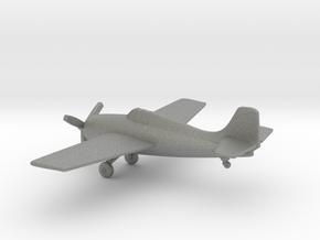 Grumman F4F Wildcat in Gray PA12: 1:160 - N