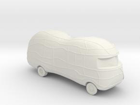 2016 Mr. Peanut Mobile 1:160 Scale in White Natural Versatile Plastic