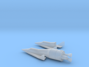 1/285 BOEING X-20 DYNA SOAR SPACE PLANE in Frosted Ultra Detail