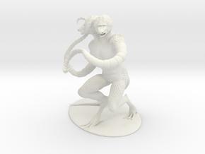 Demogorgon Miniature in White Natural Versatile Plastic: 1:60.96