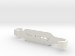 #FlyHappy SXL -Dji Controller XL Tablet Holder in White Natural Versatile Plastic