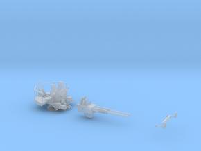 40MM Bofors single mount twin gun  in Smoothest Fine Detail Plastic