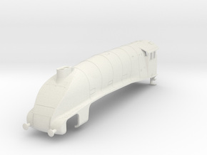 b-87-lner-a4-loco-double-chimney-modified in White Natural Versatile Plastic