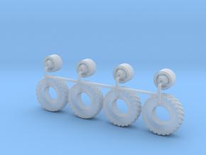 1/64 17x6 BigAir BelAir HotWheels in Smooth Fine Detail Plastic