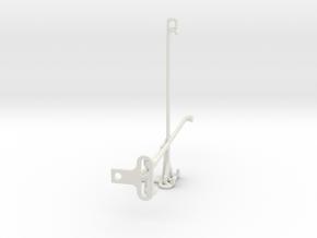 Microsoft Surface Duo tripod & stabilizer mount in White Natural Versatile Plastic