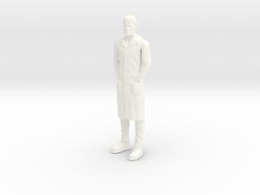 Jonny Quest - Dr Quest - 1.24 in White Processed Versatile Plastic