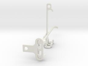 Samsung Galaxy Quantum 2 tripod & stabilizer mount in White Natural Versatile Plastic