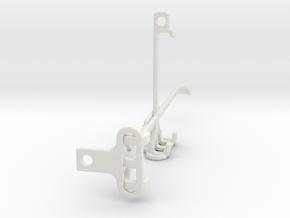 Xiaomi Poco F3 tripod & stabilizer mount in White Natural Versatile Plastic