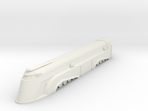 1:1000 Snowpiercer (TV) Engine in White Natural Versatile Plastic