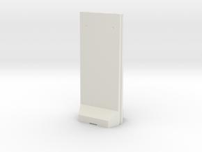 Concrete T-Wall 1/48 in White Natural Versatile Plastic