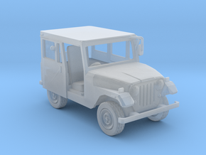 CJ 5 Jeep 1-87 HO Scale in Smooth Fine Detail Plastic