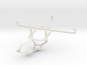 Controller mount for Steam & Motorola Moto G40 Fus in White Natural Versatile Plastic