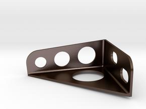Honda crx master cylinder brace in Polished Bronze Steel