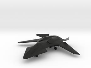 F/A-37 Talon - Wings Spread, Gear Down in Black Natural Versatile Plastic