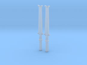Electrobatons 3.75 scale in Smooth Fine Detail Plastic
