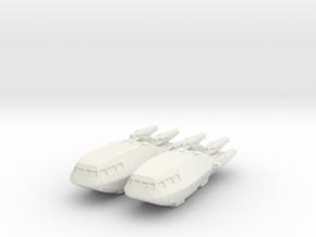 1/1000 Scale Colonial Shuttle Mk-3 in White Natural Versatile Plastic