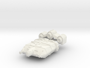 1/1000 Scale XRX-671 Trader Freighter  in White Natural Versatile Plastic