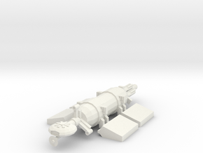1/1000 Scale Mind Bender Bulk Freighter in White Natural Versatile Plastic