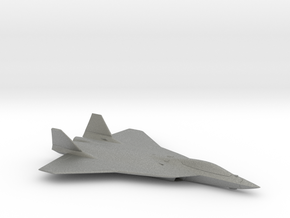 Airbus FCAS Next Generation Fighter Concept in Gray PA12: 1:144
