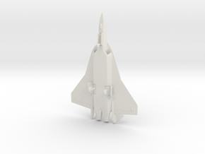 Airbus FCAS Next Generation Fighter w/Landing Gear in White Natural Versatile Plastic: 1:72