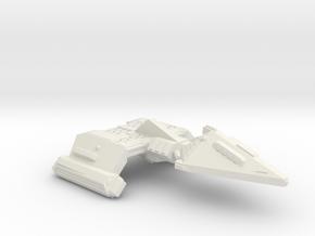 3788 Scale Neo-Tholian X-Ship Heavy Destroyer SRZ in White Natural Versatile Plastic
