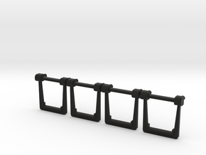 O Scale MTH Replacement EMD Truck Spring Hangers in Black Premium Versatile Plastic