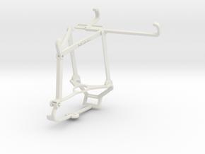 Controller mount for Steam & ZTE Blade 11 Prime -  in White Natural Versatile Plastic